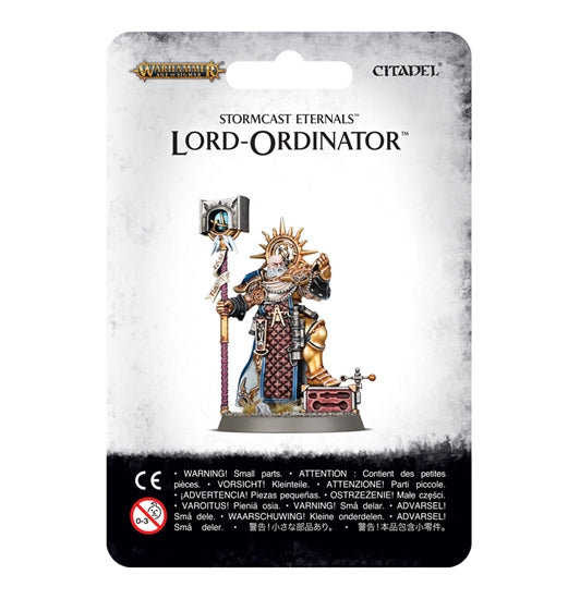 Warhammer Age Of Sigmar Stormcast Eternals Lord-Ordinator (96-38) - Pastime Sports & Games
