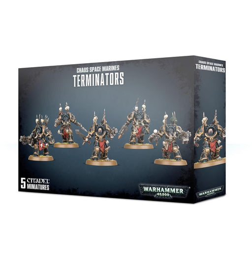 Warhammer 40,000 Chaos Space Marines Terminators (43-19) - Pastime Sports & Games