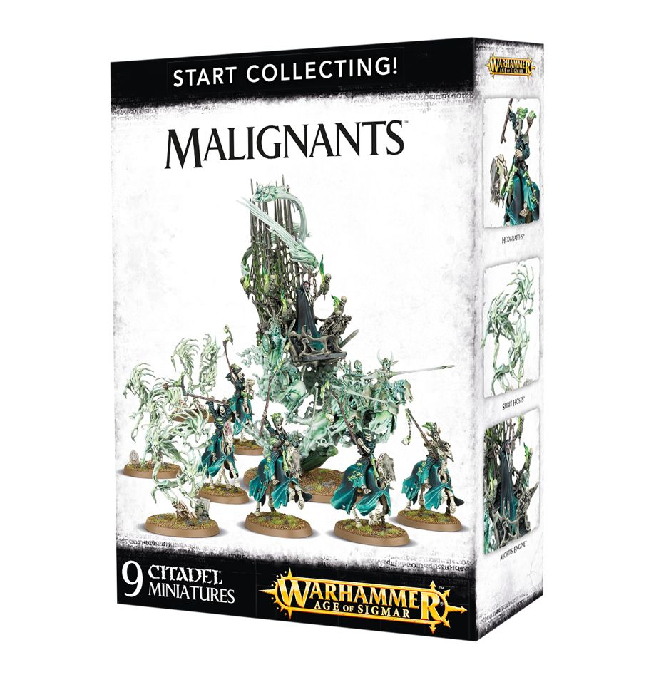 Warhammer Age Of Sigmar Start Collecting! Malignants (70-93) - Pastime Sports & Games
