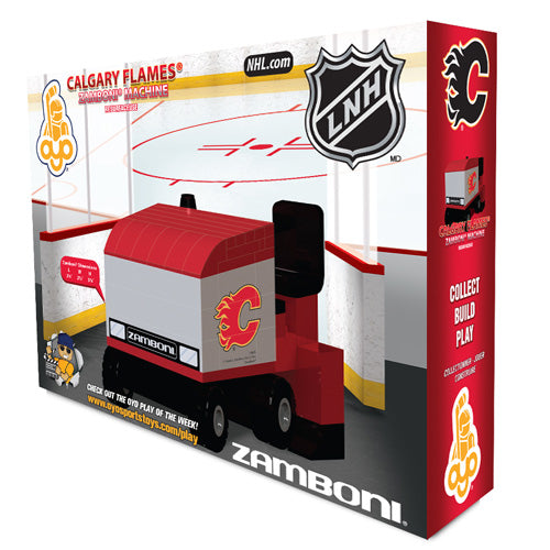 OYO Sports Calgary Flames Zamboni Machine Building Blocks Set - No Size