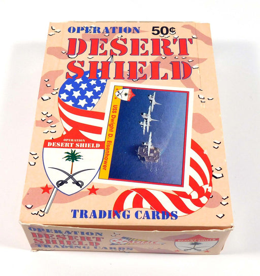 Operation Desert Shield Trading Cards