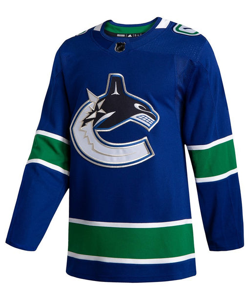 2019/20 Vancouver Canucks Home Blue Orca Jersey (Adidas) - Pastime Sports & Games