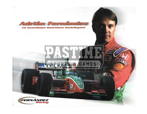Adrian Fernandez 8X10 Racing (Photo Montage) - Pastime Sports & Games