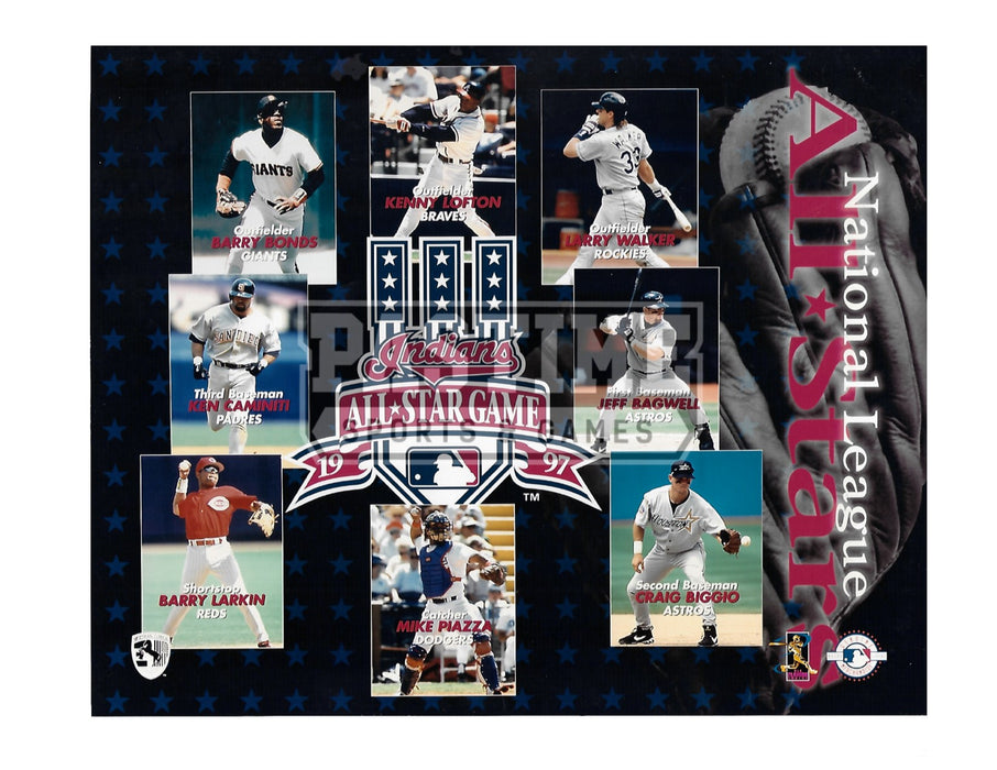 All Stars National League 8X10 (1997) - Pastime Sports & Games