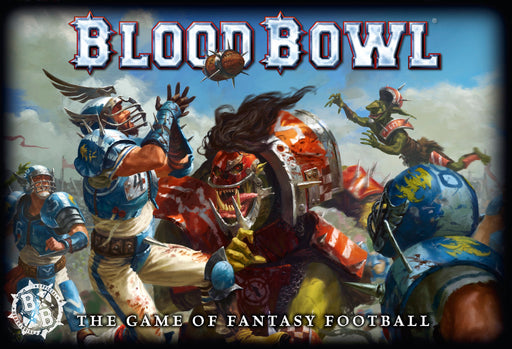 Blood Bowl The Game of Fantasy Football (200-01-60) - Pastime Sports & Games