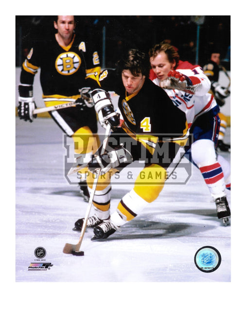 Bobby Orr 8X10 Boston Bruins Home Jersey (Skating With Puck) - Pastime Sports & Games