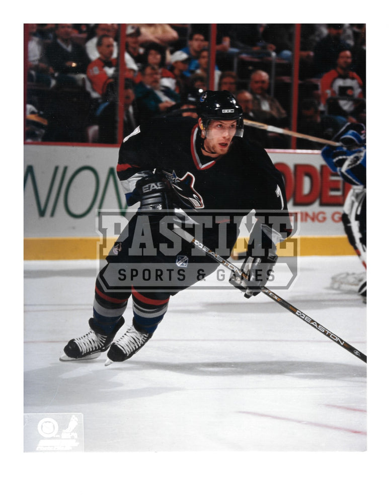 Brendan Morrison 8X10 Vancouver Canucks Home Jersey (Skating) - Pastime Sports & Games