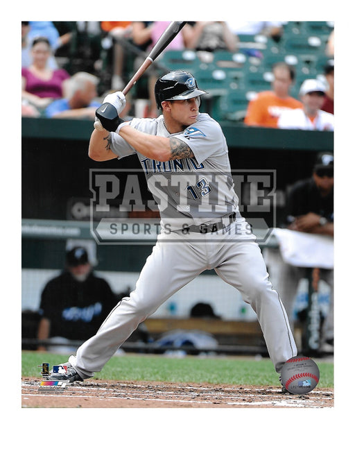 Brett Lawrie 8X10 Toronto Blue Jays (Swinging Bat) - Pastime Sports & Games