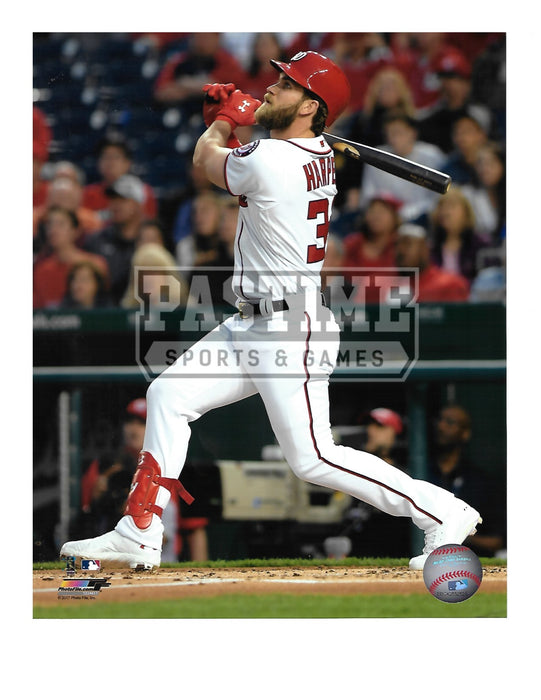 Bryce Harper 8X10 Washington Nationals (Swinging Bat) - Pastime Sports & Games