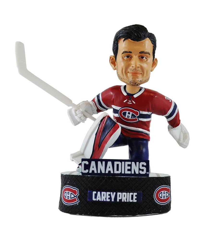 Carey Price Montreal Canadians Hockey Bobblehead (Red FOCO) - Pastime Sports & Games