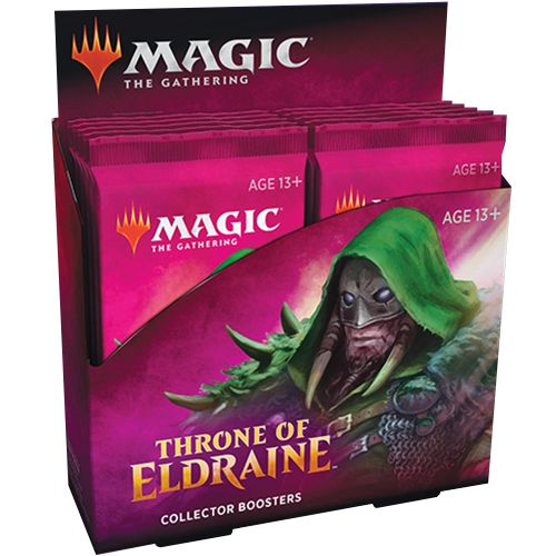 Magic The Gathering Throne of Eldraine Collector Booster