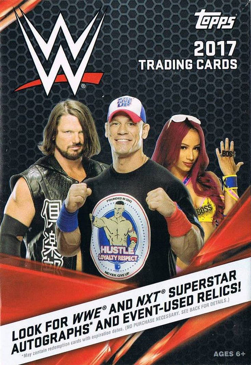 2017 Topps WWE Hanger Box - Pastime Sports & Games