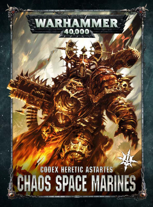 Warhammer 40,000 Codex Heretic Astartes Chaos Space Marines II (43-01-60) - Pastime Sports & Games