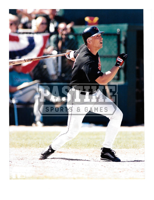 Cal Ripken Jr. 8X10 Baltimore Orioles (Swinging Bat Pose 3) - Pastime Sports & Games