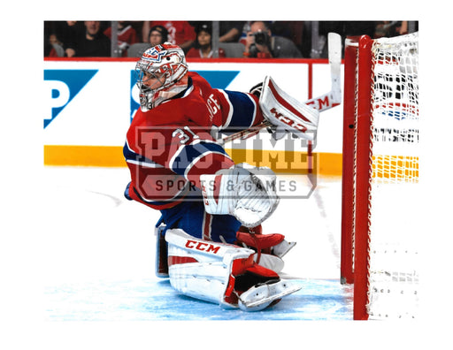 Carey Price 8X10 Montreal Canadians Home Jersey (Saving Puck) - Pastime Sports & Games