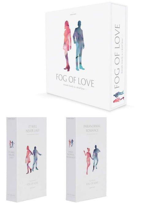 Fog of Love Main Game & Expansions (Sold Separately) - Pastime Sports & Games