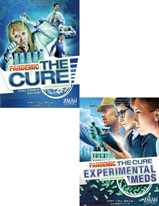 Pandemic The Cure Main Game & Expansions (Sold Separately) - Pastime Sports & Games