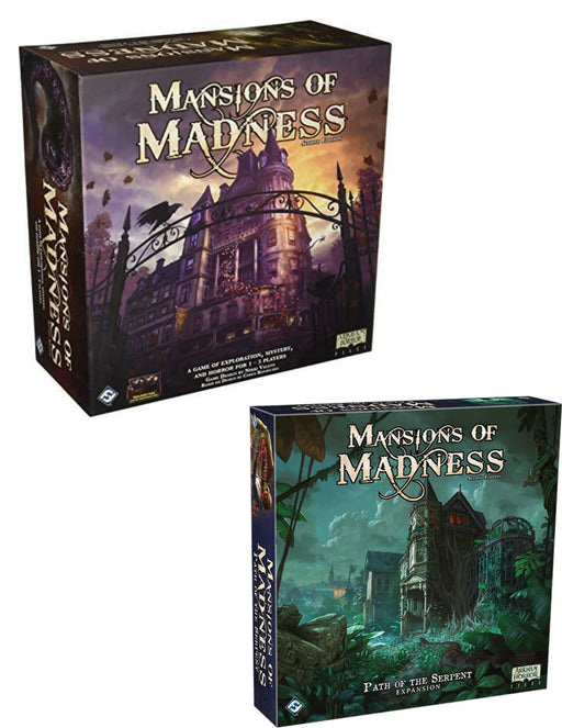 Mansions of Madness 2nd Edition Main Game & Expansions (Sold Separately) - Pastime Sports & Games