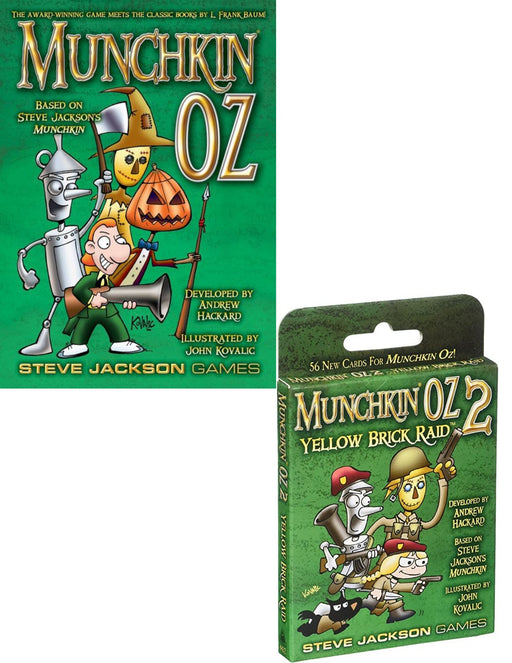 Munchkin Oz Main Game & Expansions (Sold Separately) - Pastime Sports & Games