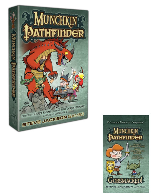 Munchkin Pathfinder Deluxe Main Game & Expansions (Sold Separately) - Pastime Sports & Games