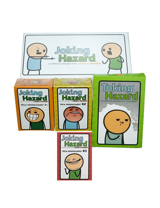 Joking Hazard Main Game & Expansions (Sold Separately) - Pastime Sports & Games