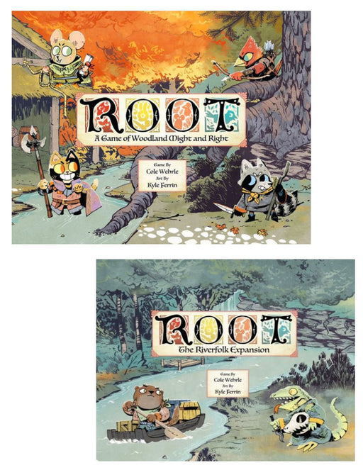 Root Main Game & Expansions (Sold Separately) - Pastime Sports & Games