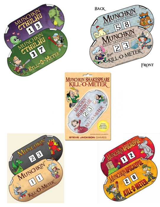 Munchkin Kill-O-Meters - Pastime Sports & Games