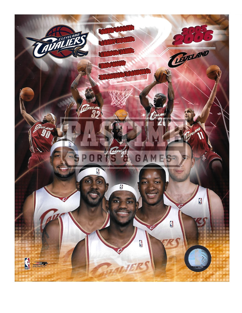 Cleveland Cavaliers 8X10 Photo Montage (2005/06) - Pastime Sports & Games