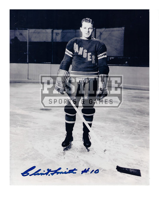 Clint Smith Autographed 8X10 New York Rangers Home Jersey (Pose) - Pastime Sports & Games