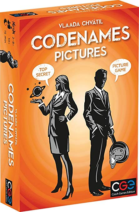 Codenames Pictures - Pastime Sports & Games