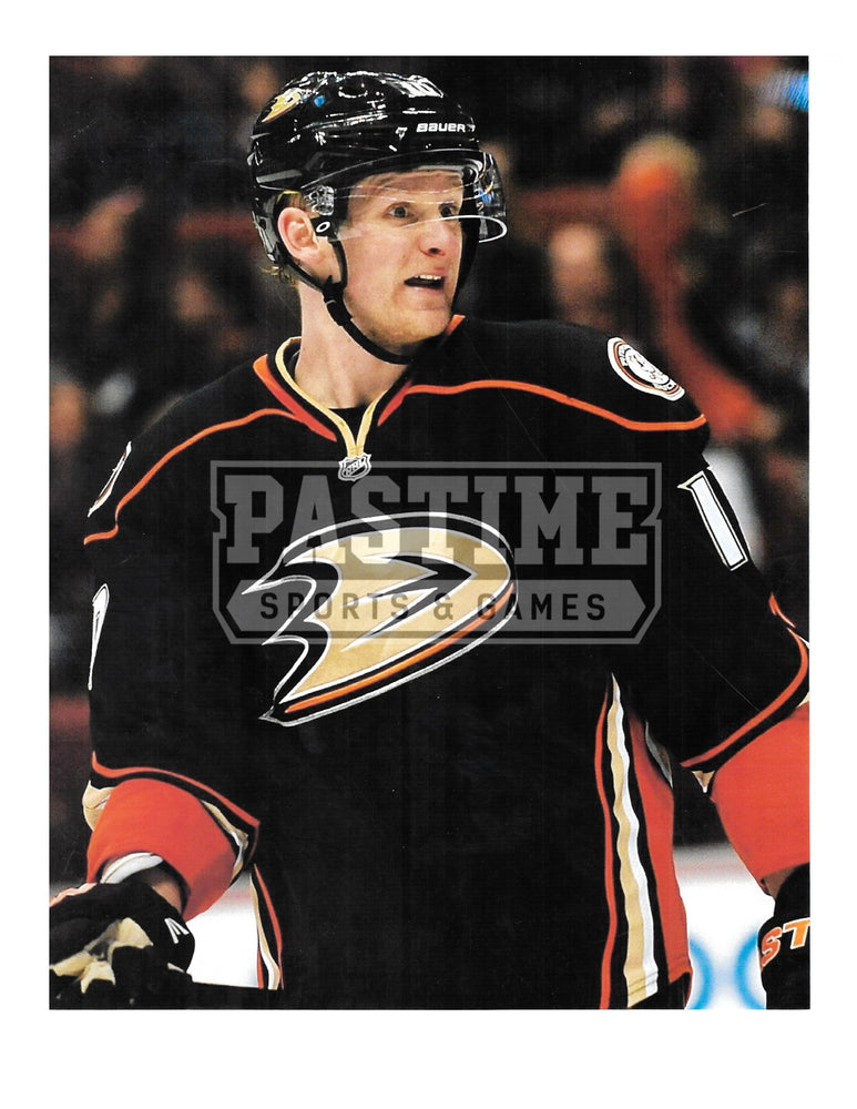 Corey Perry 8X10 Anaheim Ducks Home Jersey (Close Up) - Pastime Sports & Games