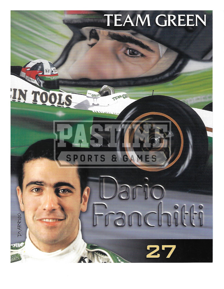 Dario Franchitti 8X10 Racing (Photo Montage) - Pastime Sports & Games