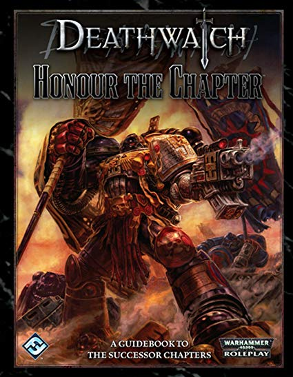 Warhammer 40,000 Roleplay Deathwatch Honour The Chapter - Pastime Sports & Games