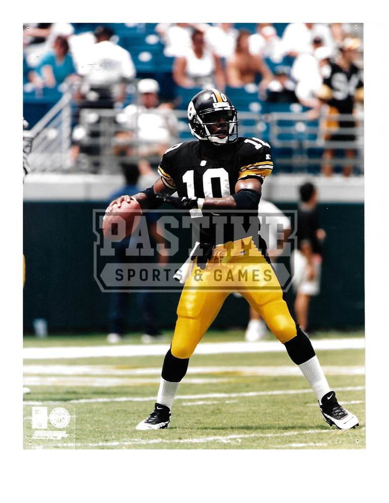 Dennis Dixon 8X10 Pittsburgh Steelers (About To Pass Pose 1) - Pastime Sports & Games