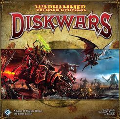 Warhammer Diskwars Hammer And Hold Expansion - Pastime Sports & Games