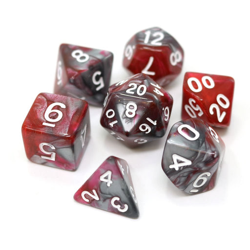 Die Hard Dice 7pc RPG Dice Set - Dragons Blood - Pastime Sports & Games
