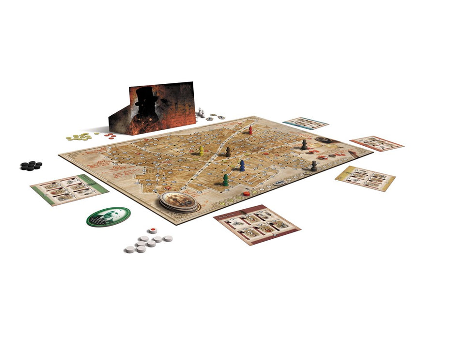 Letters From Whitechapel Revised Edition Main Game & Expansions (Sold Separately) - Pastime Sports & Games