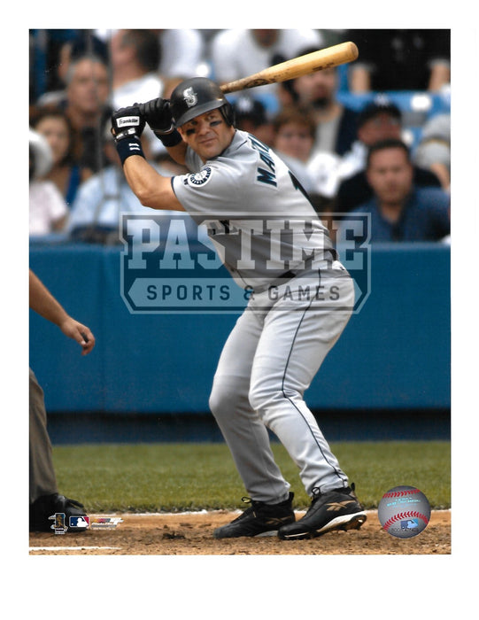 Edgar Martinez 8X10 Seattle Mariners (Ready To Swing Bat) - Pastime Sports & Games