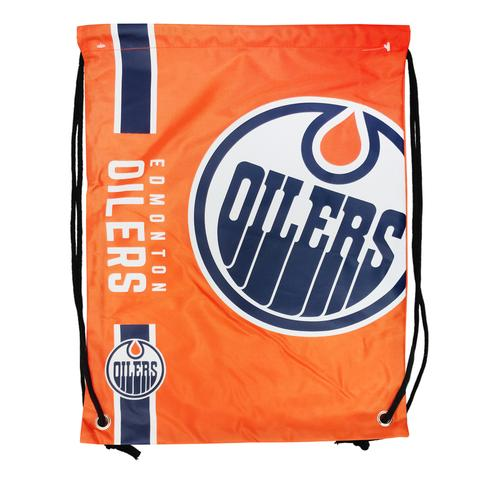 Edmonton Oilers Drawstring Bag Hockey (Orange FOCO) - Pastime Sports & Games