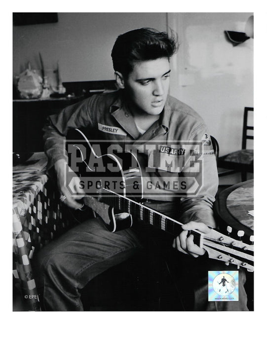 Elvis Presley 8X10 (With Guitar Pose 1) - Pastime Sports & Games