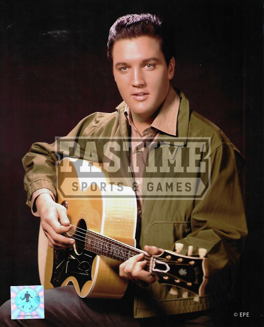 Elvis Presley 8X10 (With Guitar Pose 3) - Pastime Sports & Games