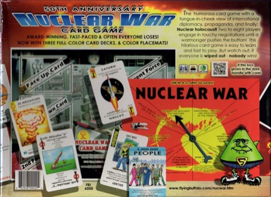 Nuclear War - Pastime Sports & Games