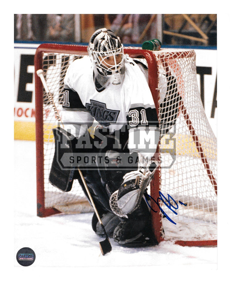 Frederic Chabot Autographed 8X10 L.A Kings Away Jersey (By The Goal Post) - Pastime Sports & Games