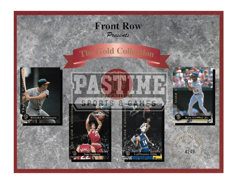 Front Row The Gold Collection Premium (# Out Of 5000) - Pastime Sports & Games