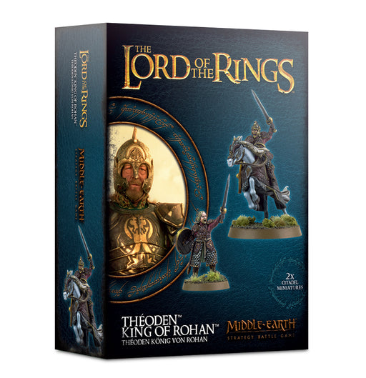Middle Earth Stratagey Battle Game Lord Of The Rings Theoden King Of Rohan (30-39) - Pastime Sports & Games