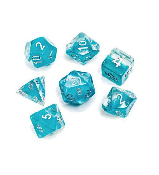 Gate Keeper Games 7pc RPG Dice Set Neutron Glacier - Pastime Sports & Games