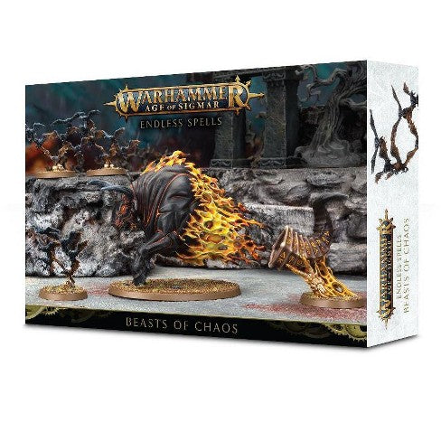 Warhammer Age Of Sigmar Endless Spells Beasts Of Chaos (81-02) - Pastime Sports & Games
