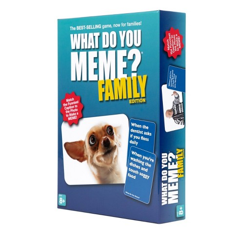 What Do You Meme? Family Edition - Pastime Sports & Games