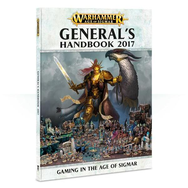 Warhammer Age Of Sigmar General's Handbook 2017 - Pastime Sports & Games