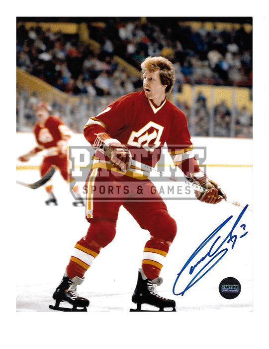 Garry Unger Autographed 8X10 (Skating) - Pastime Sports & Games